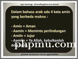 Amin, Aamin, Amiin, atau Aamiin? (dalam Tulisan Doa)